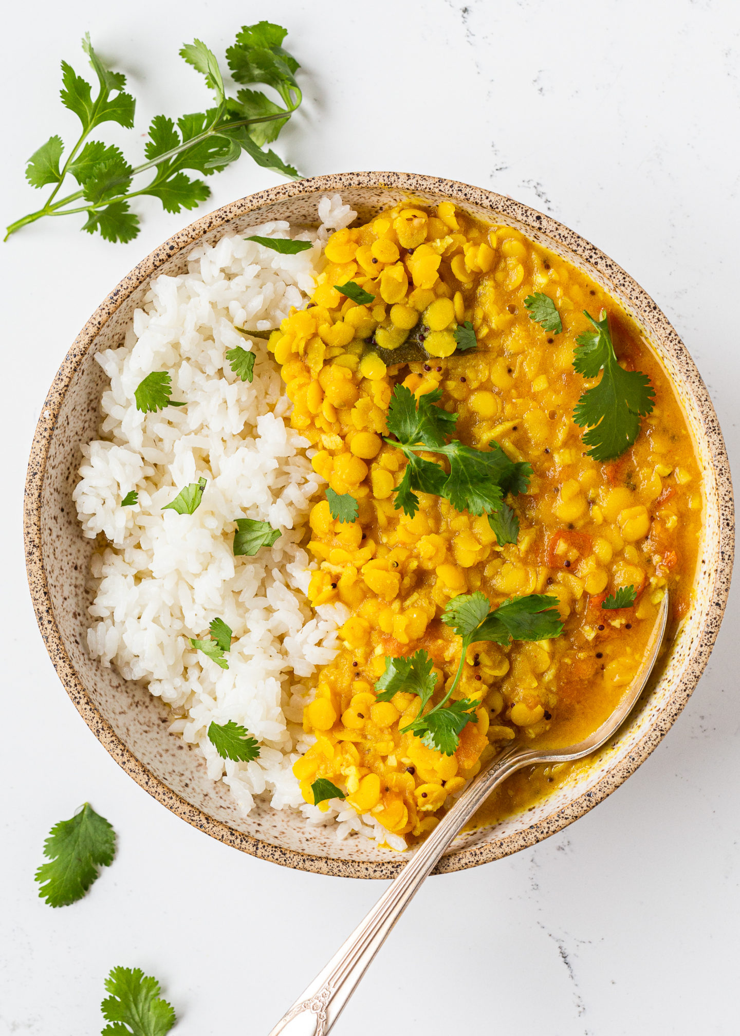 weet and Sour Yellow Lentils