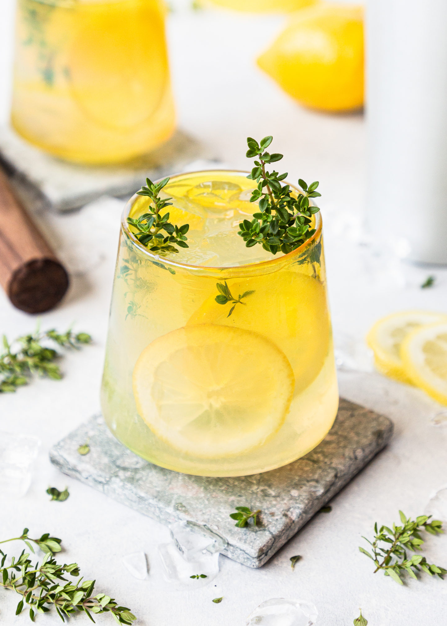 Lemon-Thyme Daiquiris