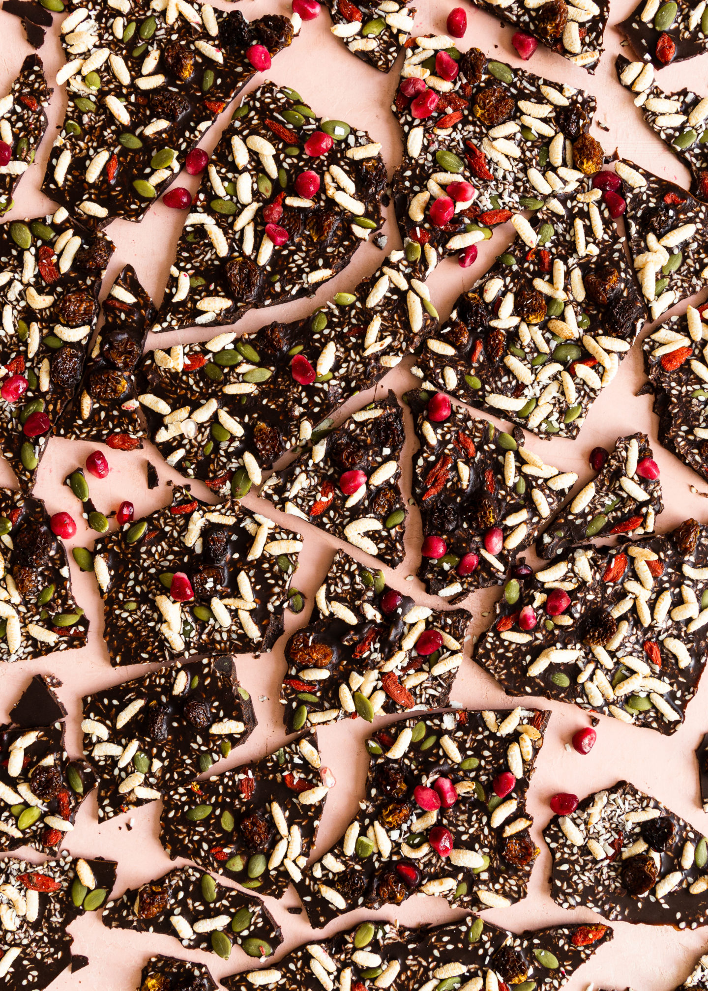 Chocolate Bark with Nuts and Seeds