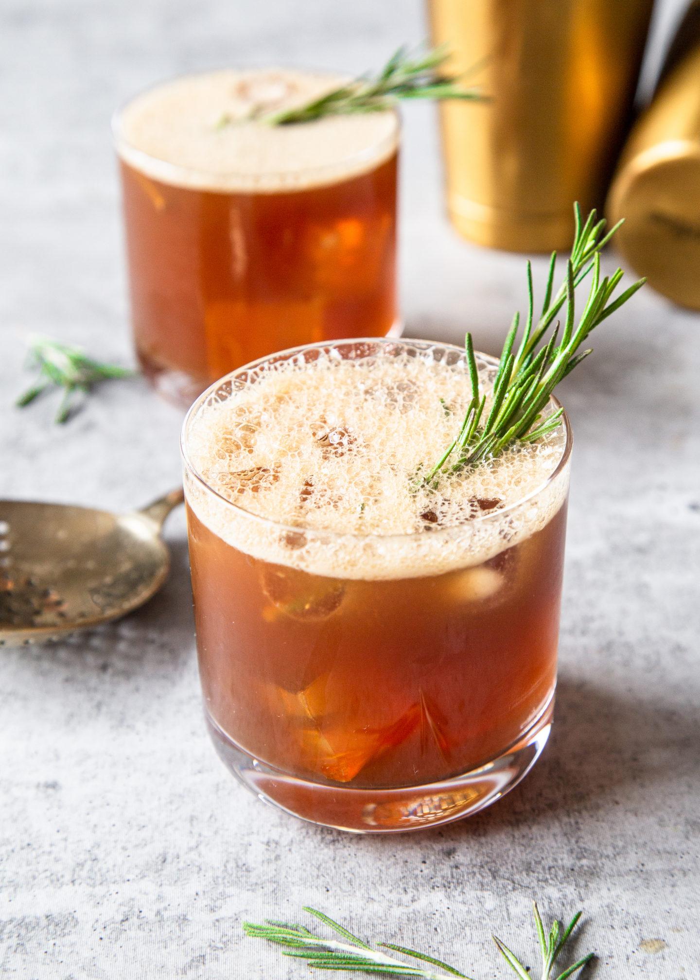 Bulleit Amaro Cocktail