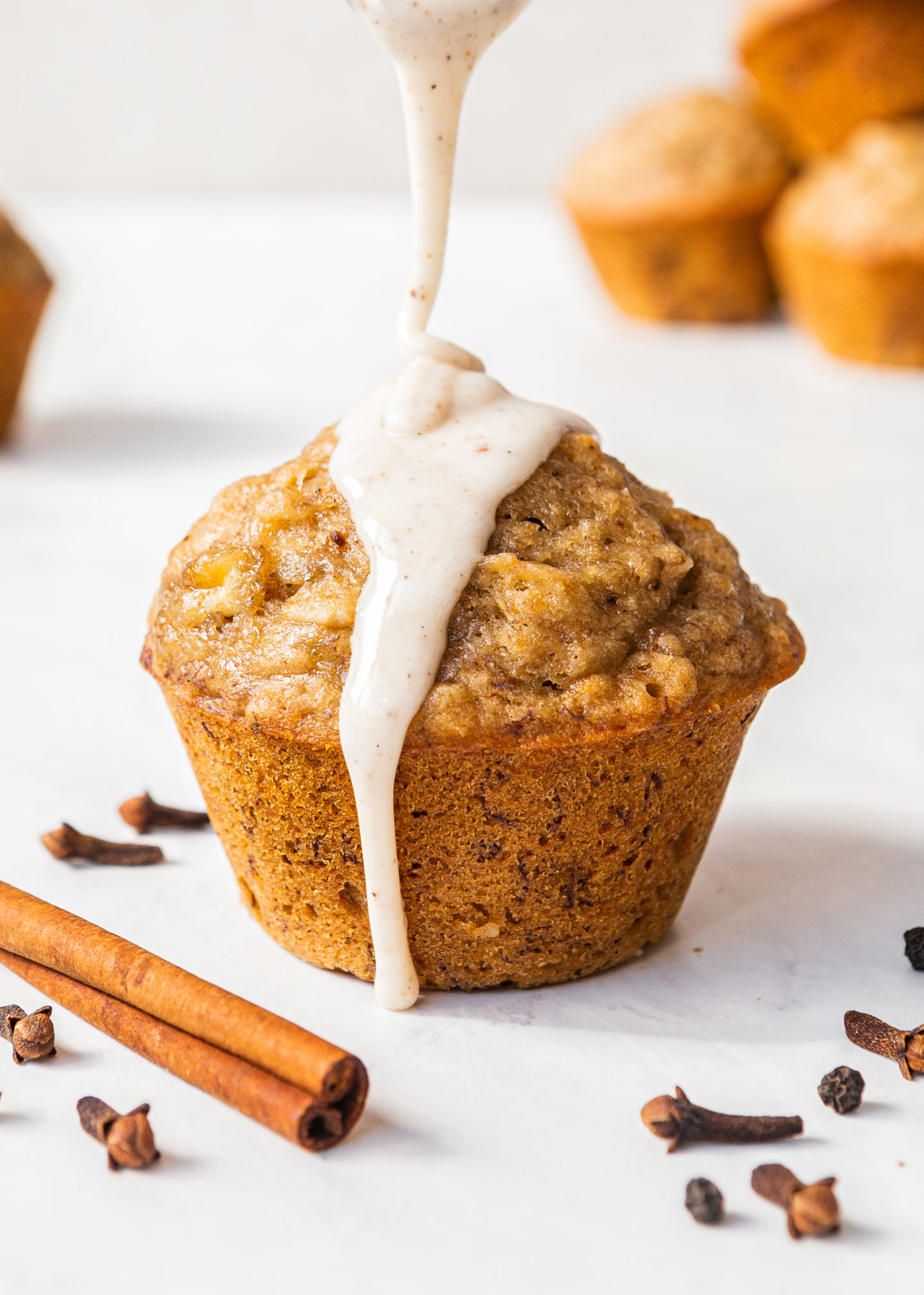 Chai Spiced Banana Breakfast Muffins
