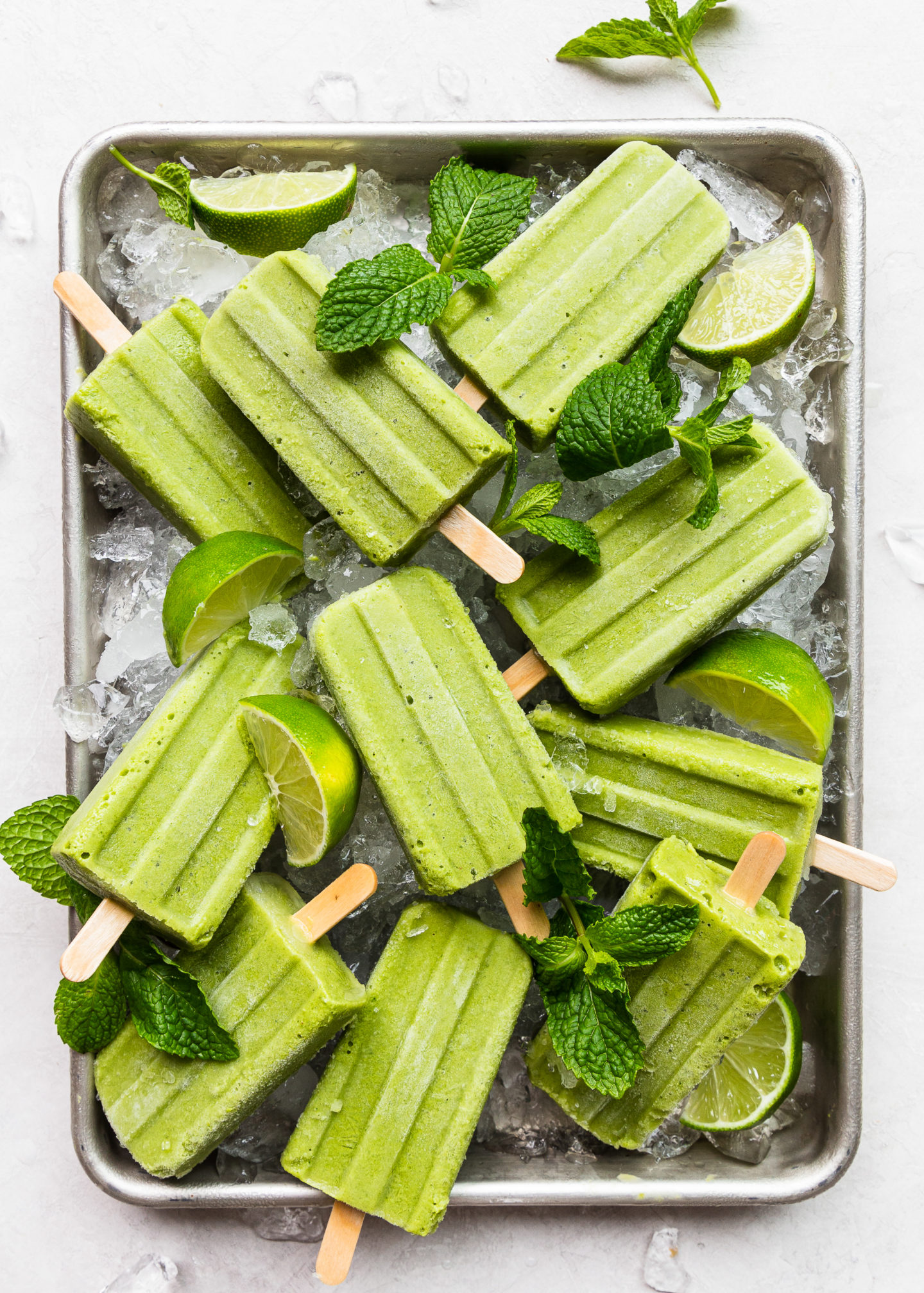 Green Smoothie Ice Pops