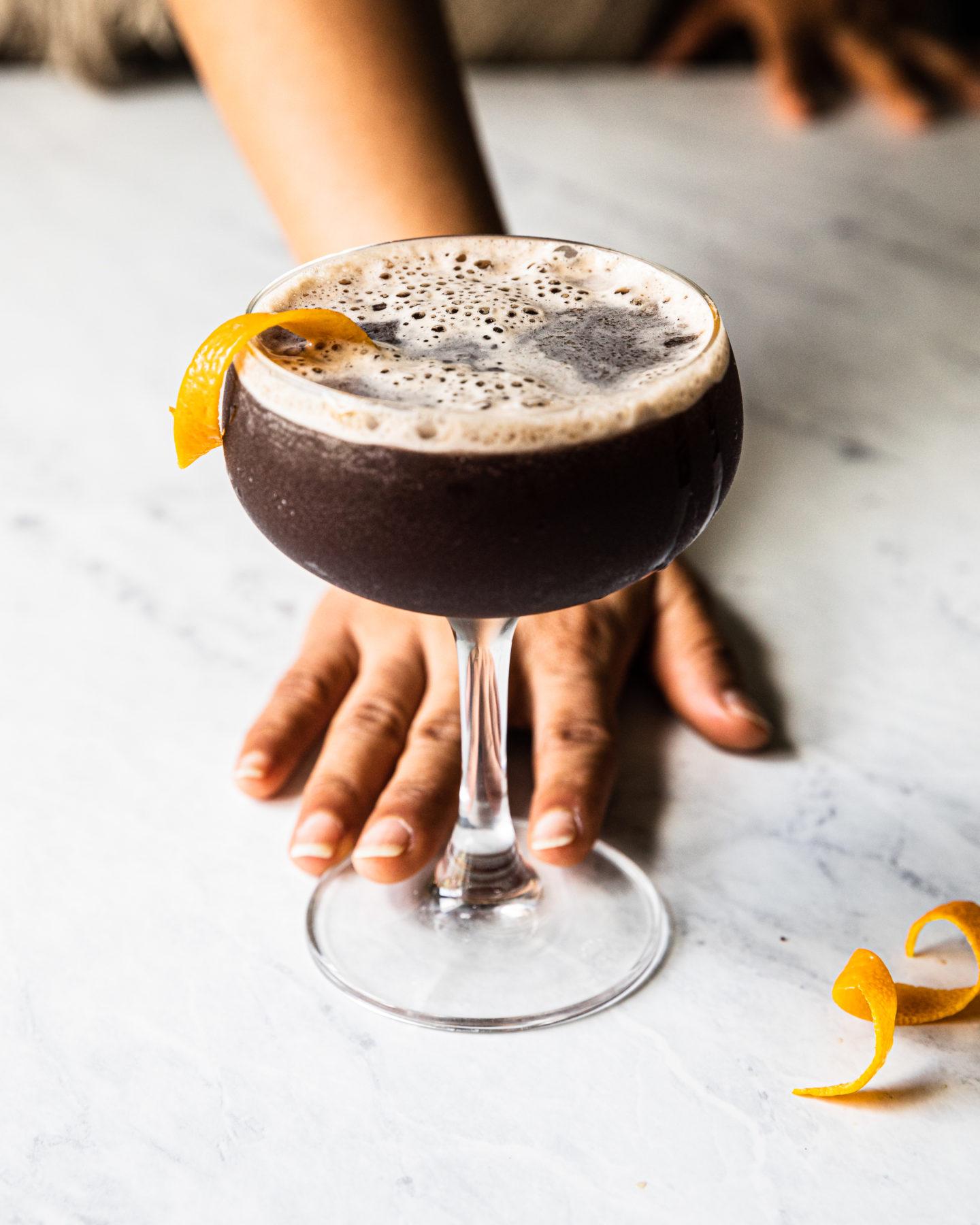 Pomergrante Bourbon Cocktail