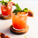 Blood Orange cocktail 2